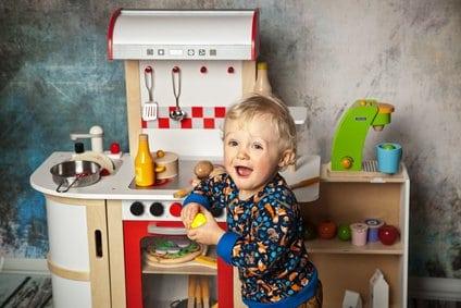 Kochspaß in der Kinderspielküche